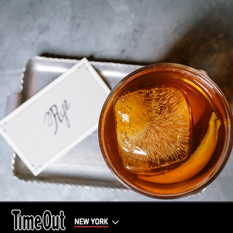 TONY Best Old Fashioneds in NYC