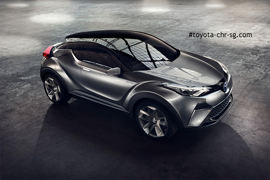 TOYOTA C-HR Top View