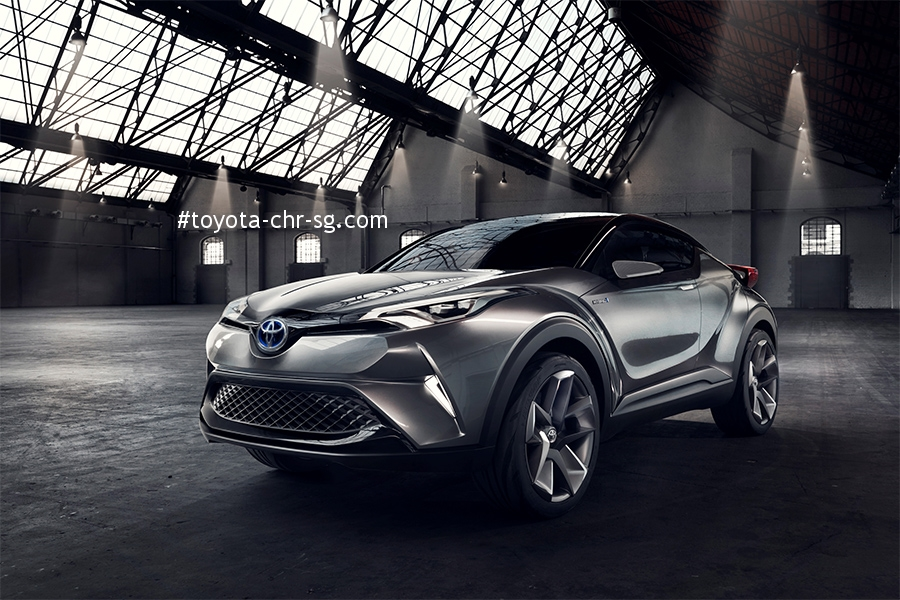 TOYOTA C-HR Front Angle with Side View