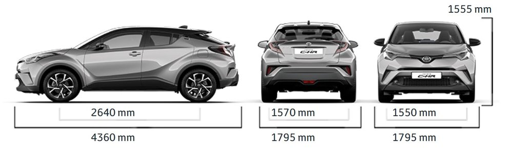 Toyota Chr Sg Specifications on fuel tank size