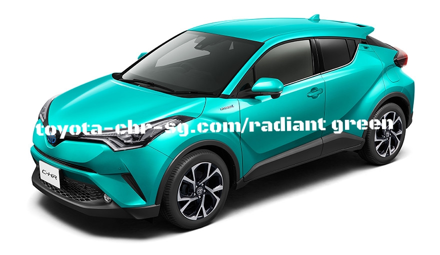 TOYOTA C-HR RADIANT GREEN