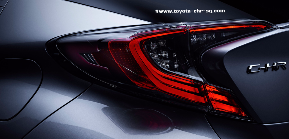 Toyota C-HR Rear Led Lamp