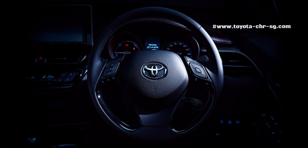 Toyota C-HR Steering Wheel