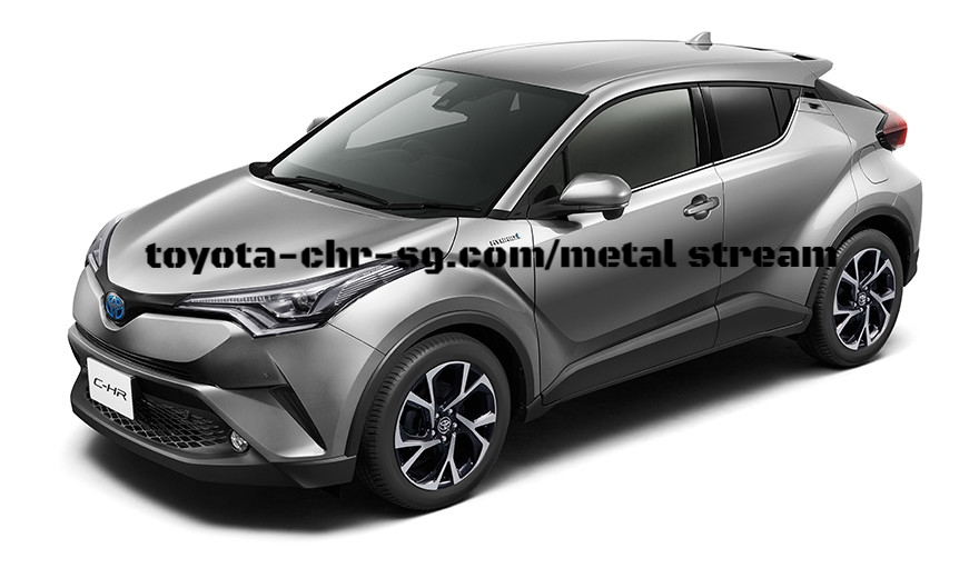 TOYOTA C-HR METAL STREAM METALLIC