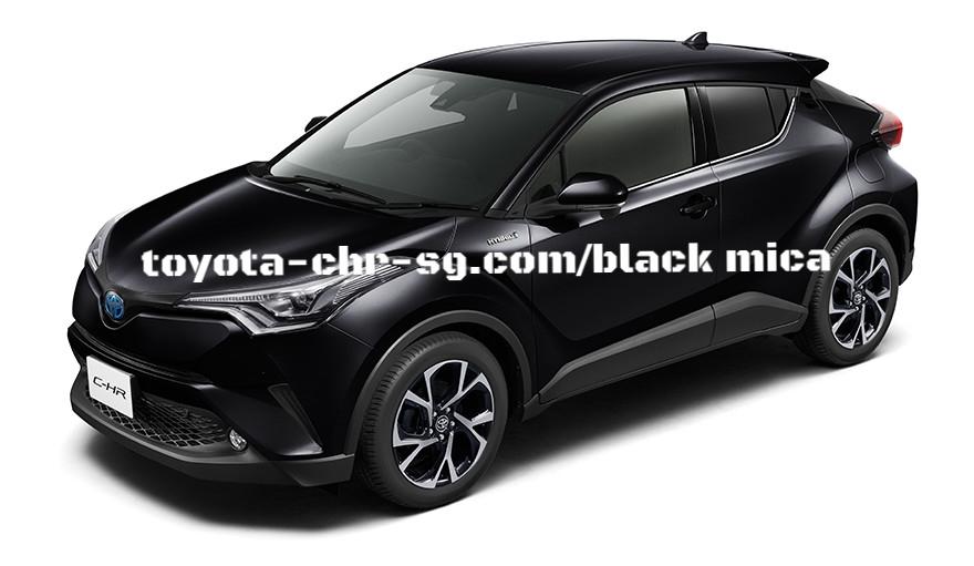 TOYOTA C-HR BLACK MICA