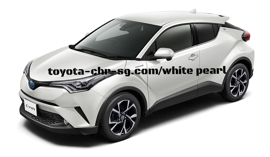 TOYOTA C-HR WHITE PEARL