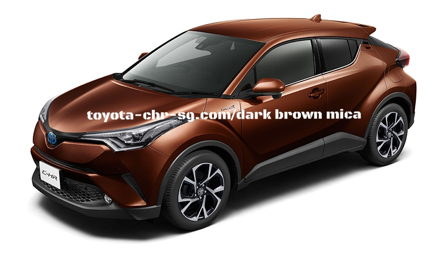TOYOTA C-HR DARK BROWN MICA