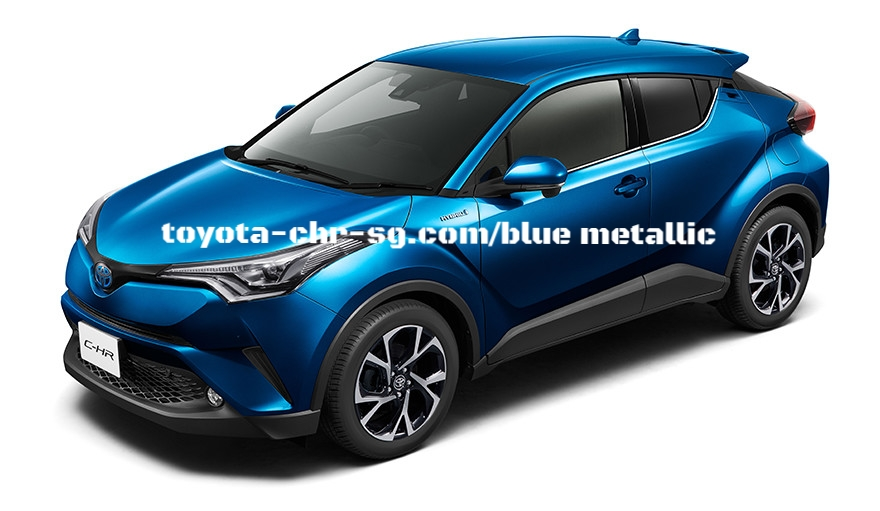 TOYOTA C-HR BLUE METALLIC