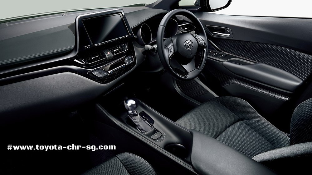 Toyota C-HR Steering