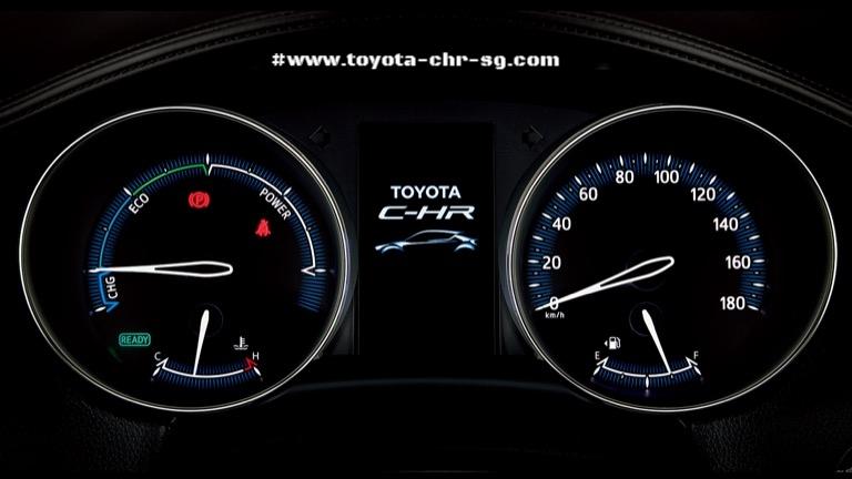 Toyota C-HR Meter
