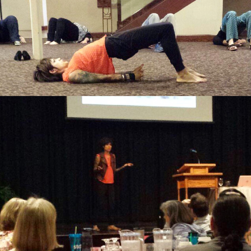 Loved speaking at the wellness CONFERENCE this past weekend for the Social workers of spokane public schools. We also took some time to do yoga and breathe work.  Nutrition can DEFINITELY influence the behavior and ability to learn with our youth,  I was honored to be asked to share my knowledge.