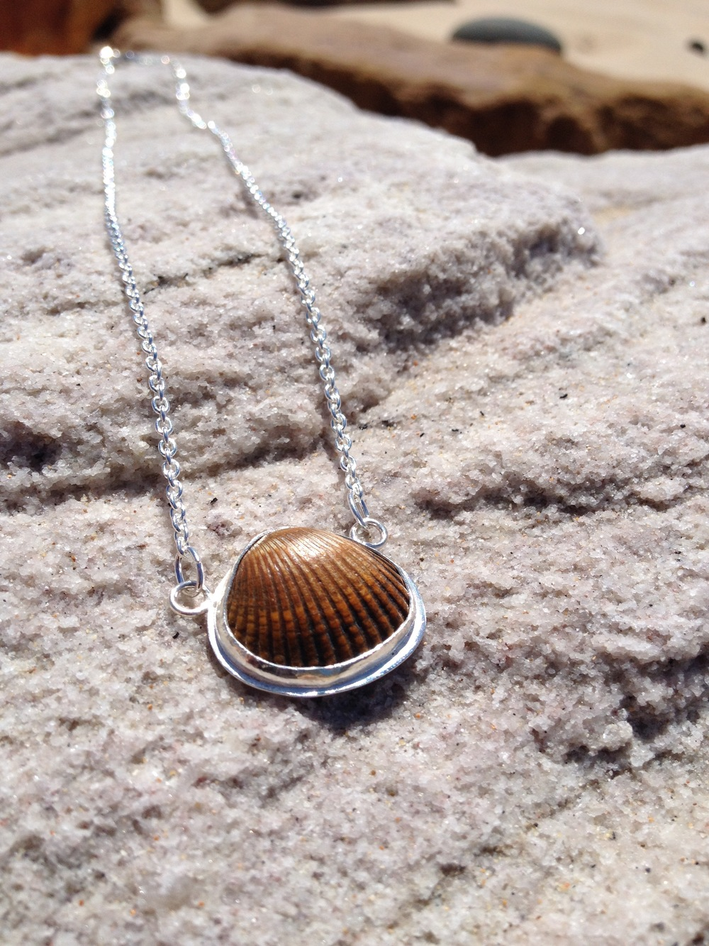 Byron Bay Copper Shell Necklace