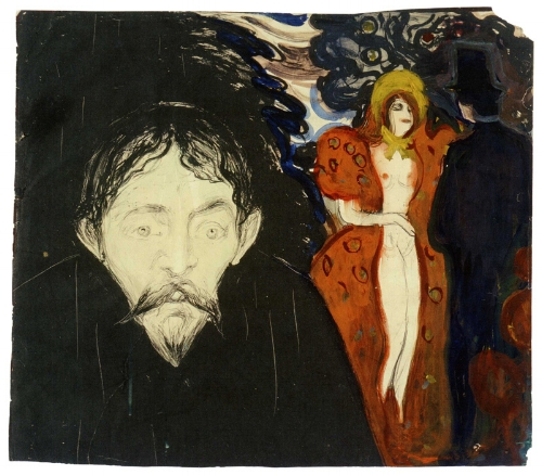 One of Edvard Munch's 11 jealousy paintings.