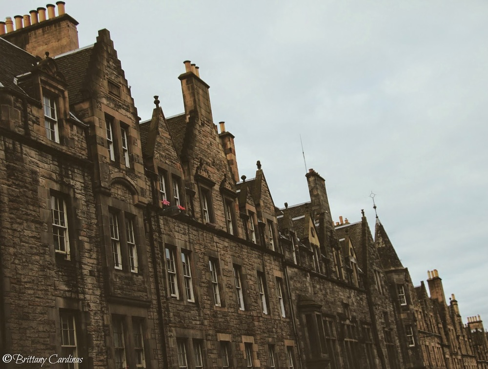 Meandering the Edinburgh streets