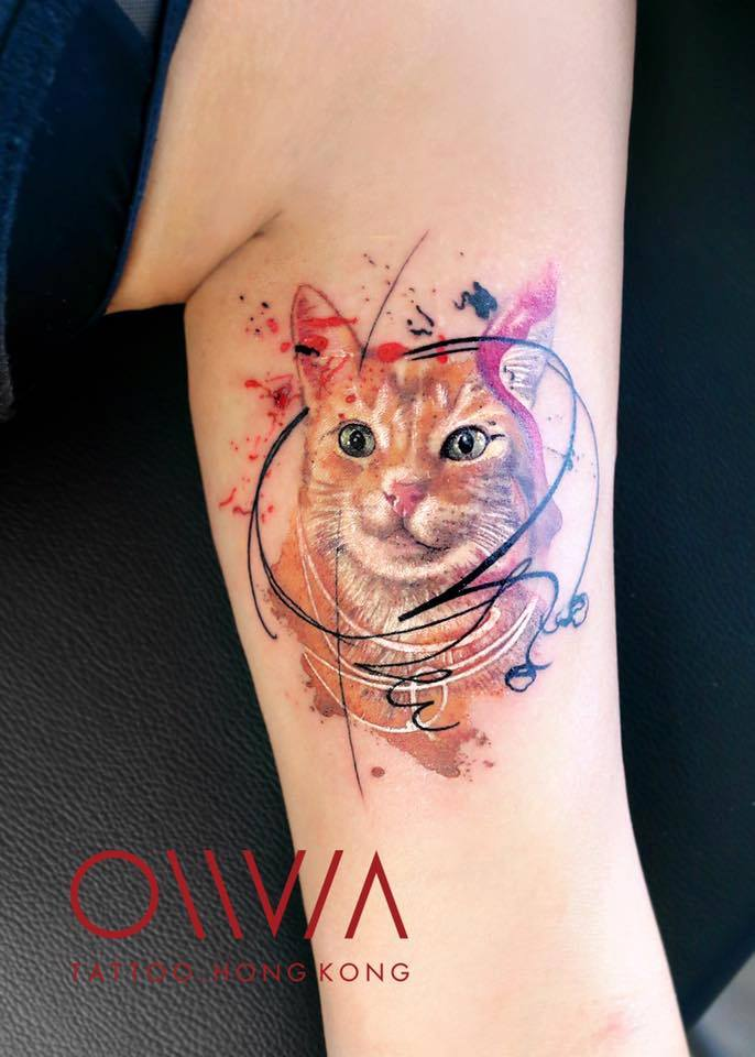 2016-fridays-tattoo-hong-kong-olivia-brush-painting-cat-1.jpg