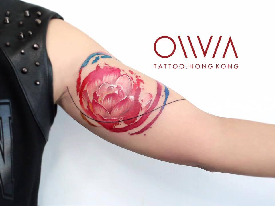 2016-fridays-tattoo-hong-kong-olivia-brush-painting-peony.jpg