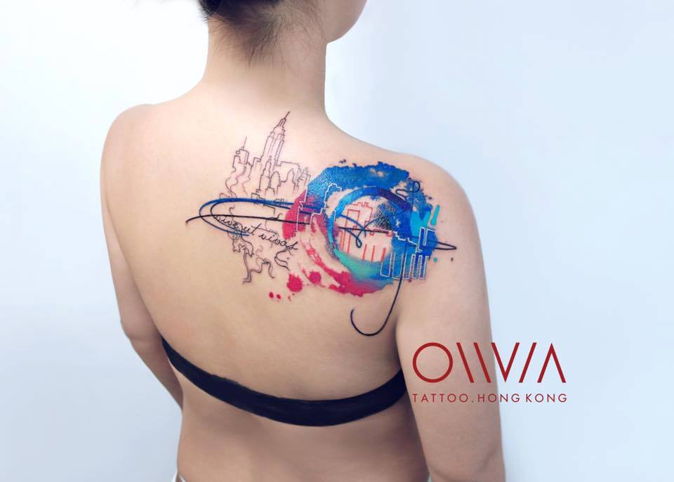 2016-fridays-tattoo-hong-kong-olivia-brush-painting-abstract-hong-kong-skyline.jpg