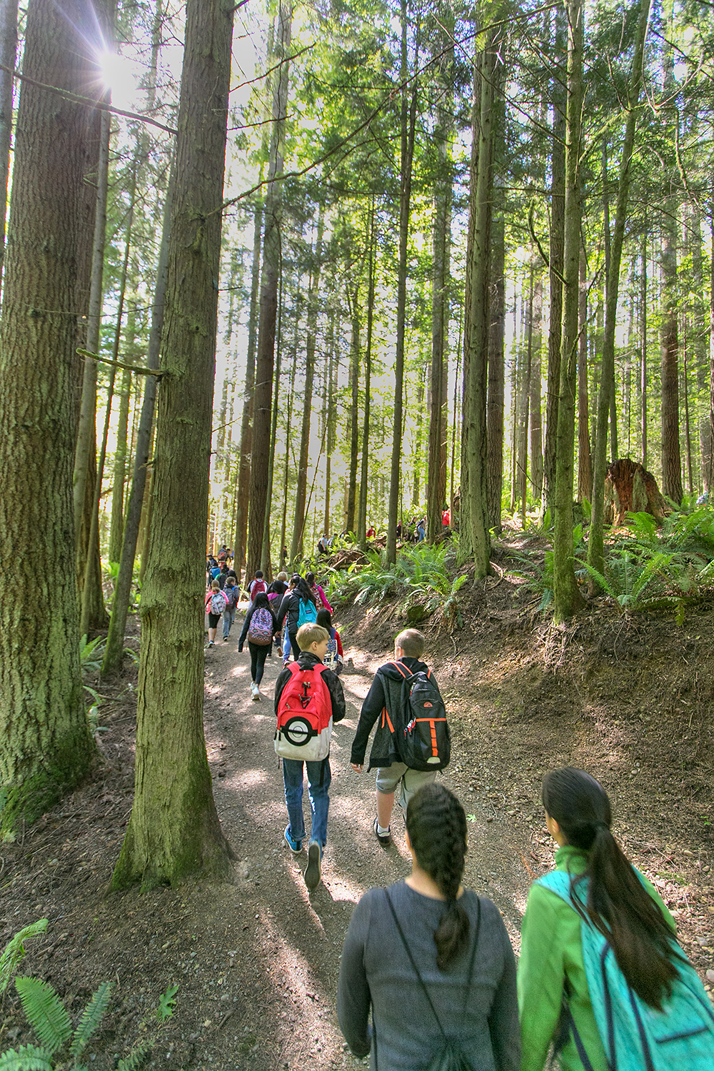 School by school, kids will get the opportunity to head up to Little Mountain for a day of the outdoor learning and recreation.