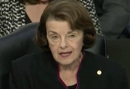 Sen. Dianne Feinstein, 2018 (C-SPAN)