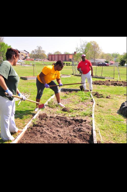Serenity Gardens at Prince of Peace Lutheran Church 1100 Curtis Street, Greensboro NC 27406