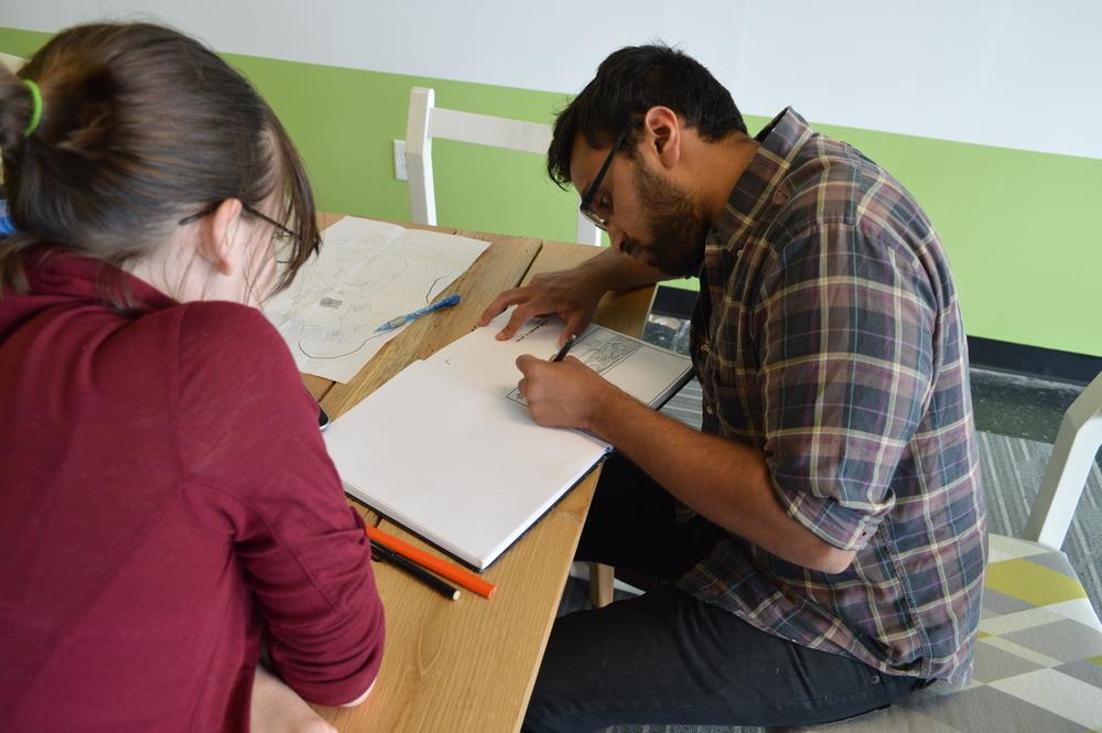 Anuj and Eliz CCED.JPG