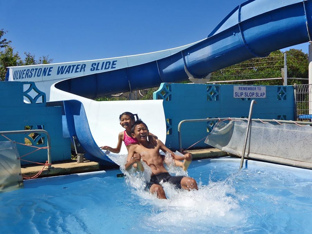 ulverstone waterslide