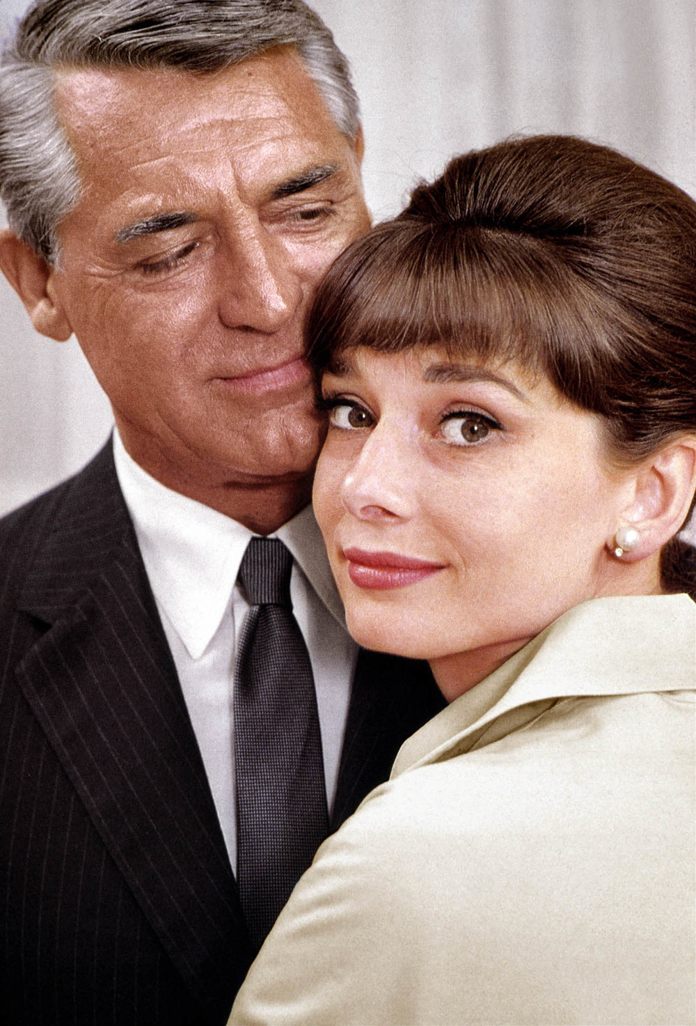 """You smell marvellous, darling!"" Devotees of unisex scent Acqua di Parma Colonia, Cary Grant and Audrey Hepburn."