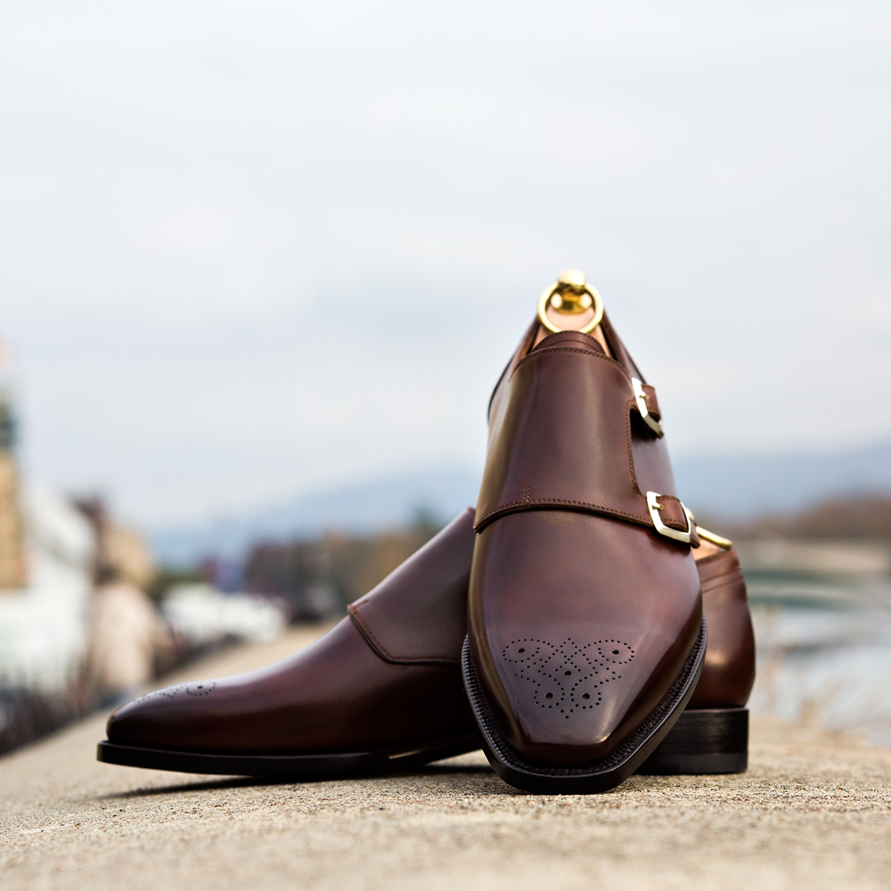 """0995c643e 4. DOUBLE TROUBLE: """"Double monkstraps are my passion. I own several but, if  I could have only one, to wear with practically everything I have in my  closet ..."""