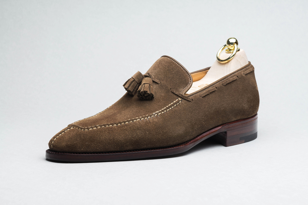 """891d2da3a GRAND DESIGNS: """"My grandfather always said, 'Pay attention to the shoes you  wear because everyone else will.' And he was certainly never caught short  with a ..."""