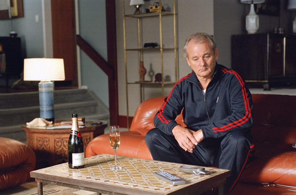 BILL MURRAY TRACKSUIT BROKEN FLOWERS