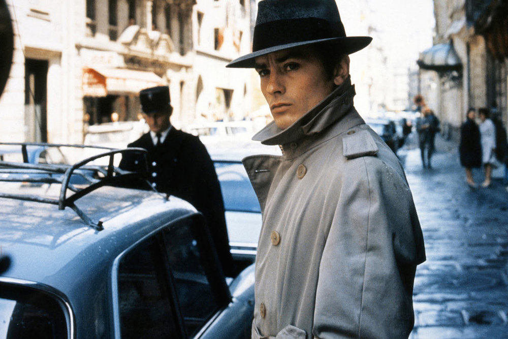 Alain Delon in seminal 1967 French gangster flick, Le Samourai.
