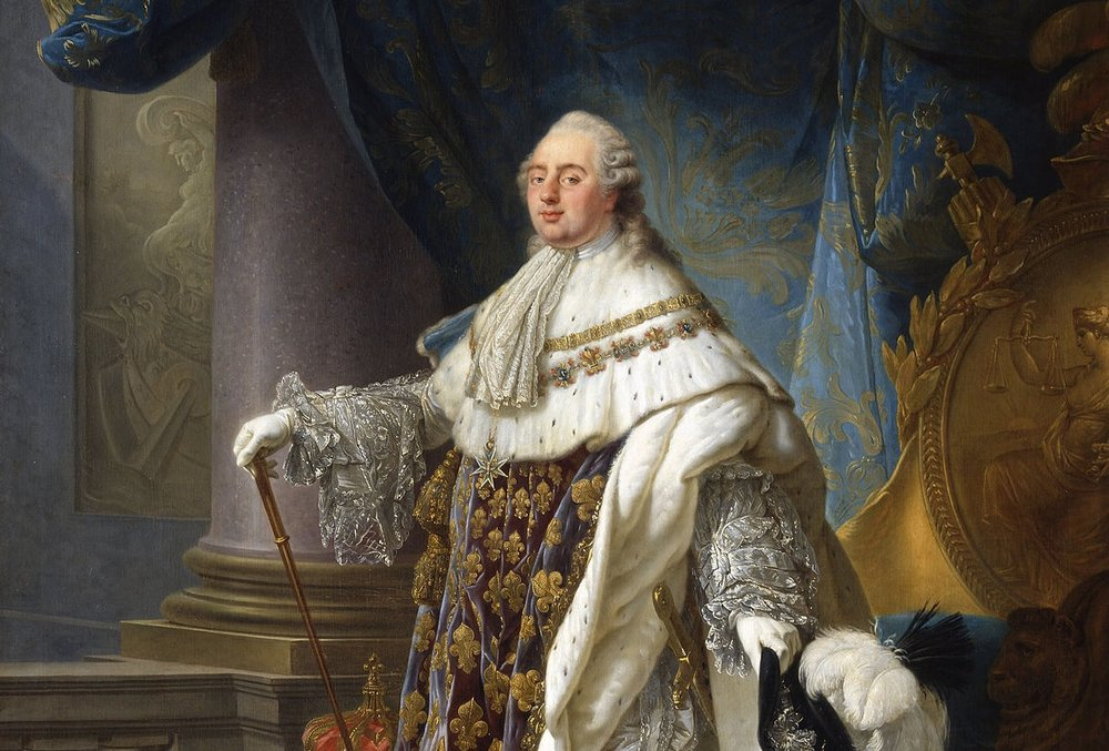 Generous to a fault, the ill-fated French King Louis XVI by Antoine-Francois Callet.