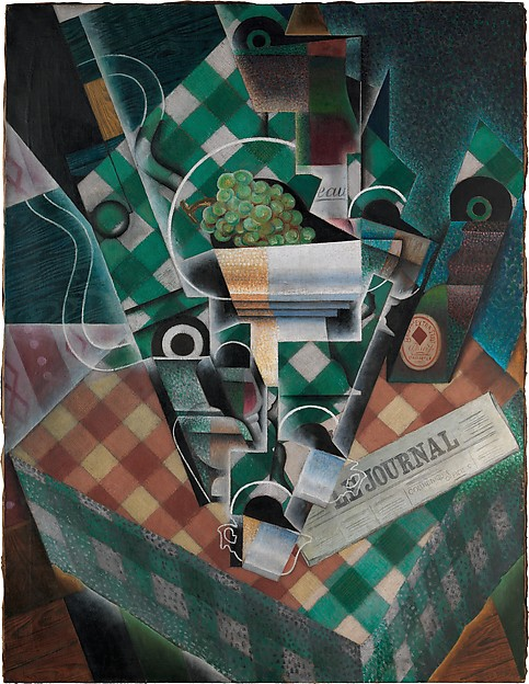 'Still Life with Checked Tablecloth' by Juan Gris, part of the billion-dollar collection of Cubist art donated by Leonard Lauder to the Met.