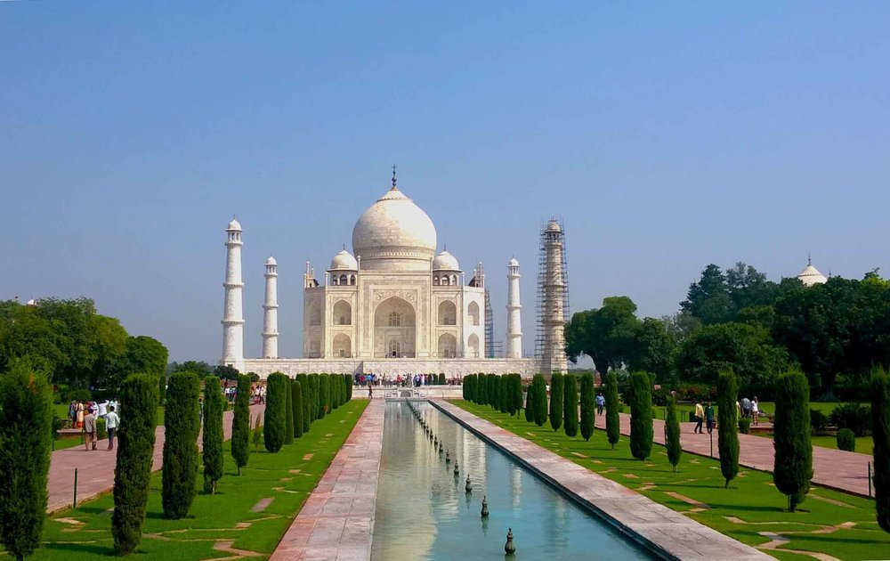 Today India's most popular tourist attraction, the Taj Mahal took more than two decades to build.