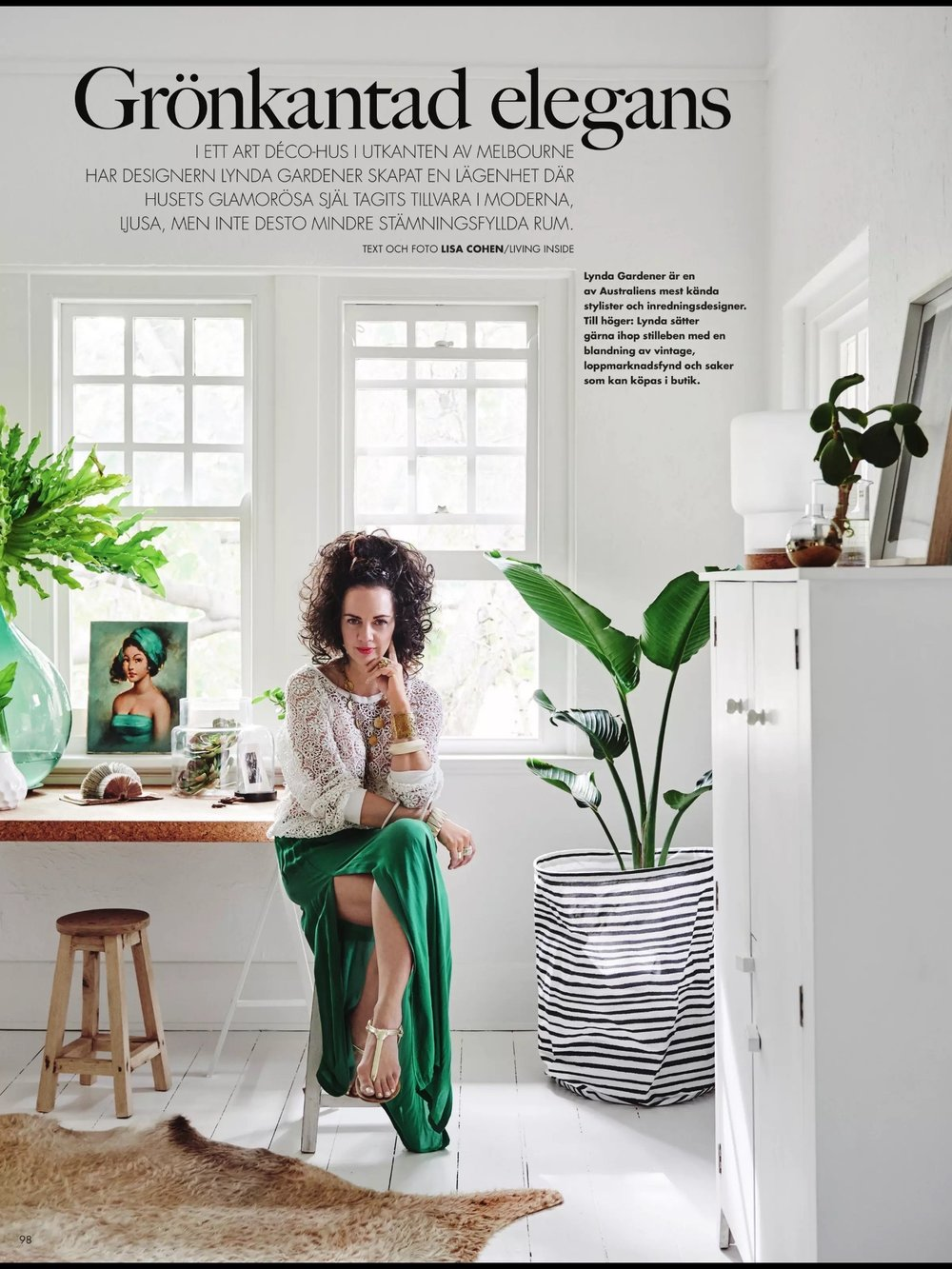 Featured In ELLE DECORATION SWEDEN Feb 2017