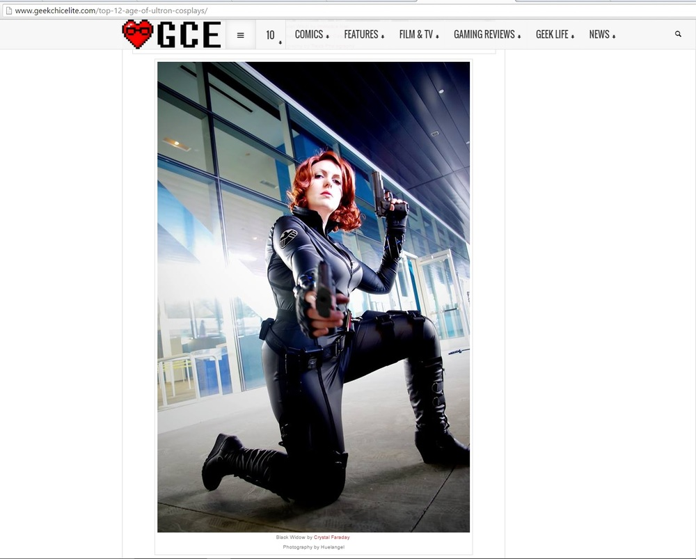 Geek Chic Elite Photo Feature; Personal Credit - Photography