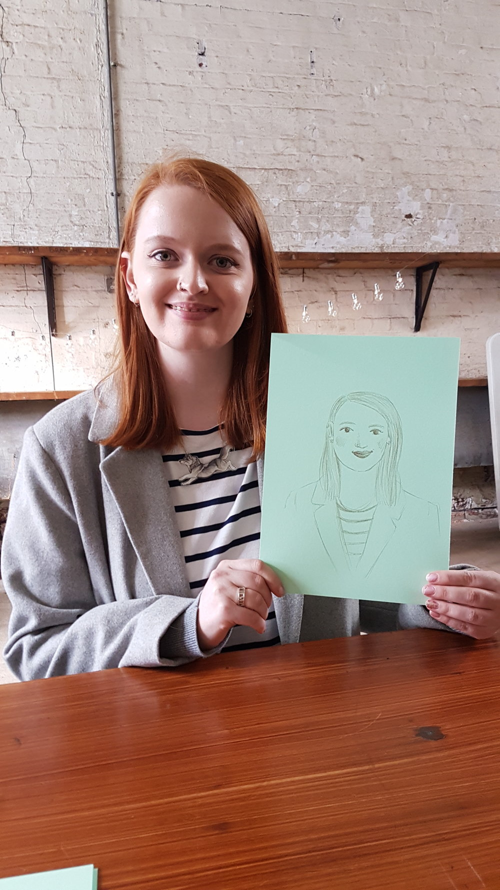 3 Minute Portraits from Fred Aldous. Portrait by Emma Reynolds