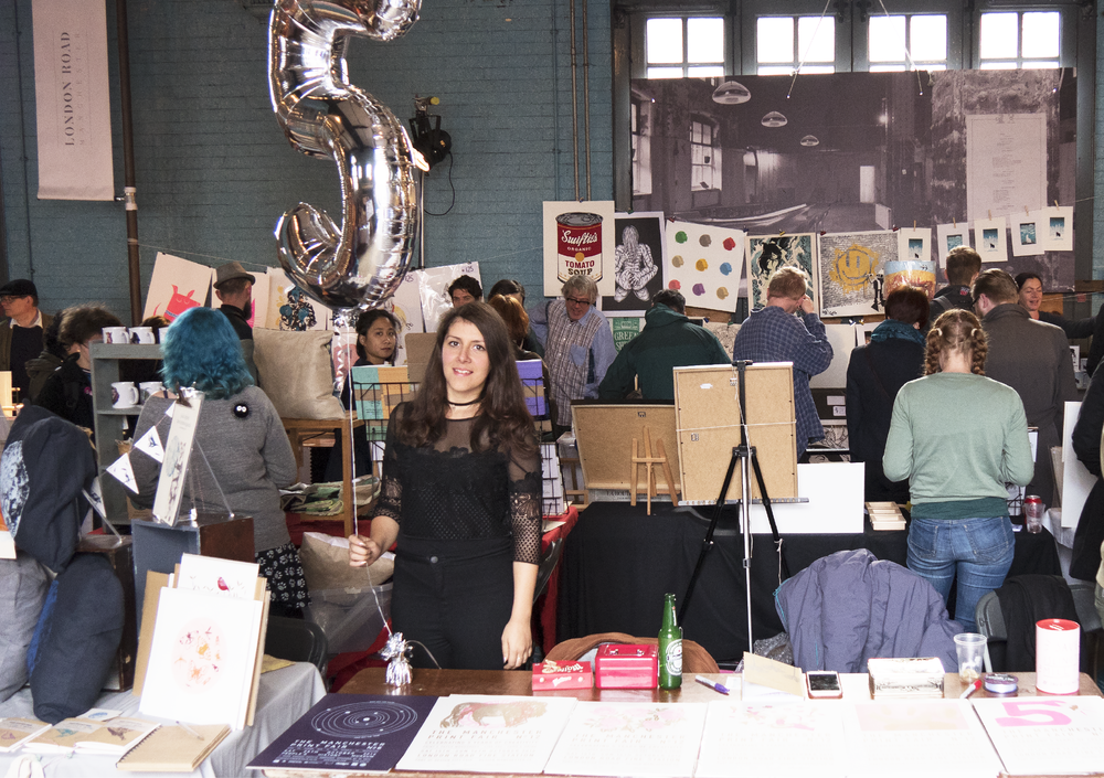 Manchester Print Fair celebrated turning 5 at London Road Fire Station as part of Design Manchester 2016 festival. The two day event saw over 7,000 visitors.