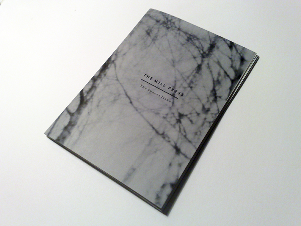 The Mill Press: The Spaces Issue cover