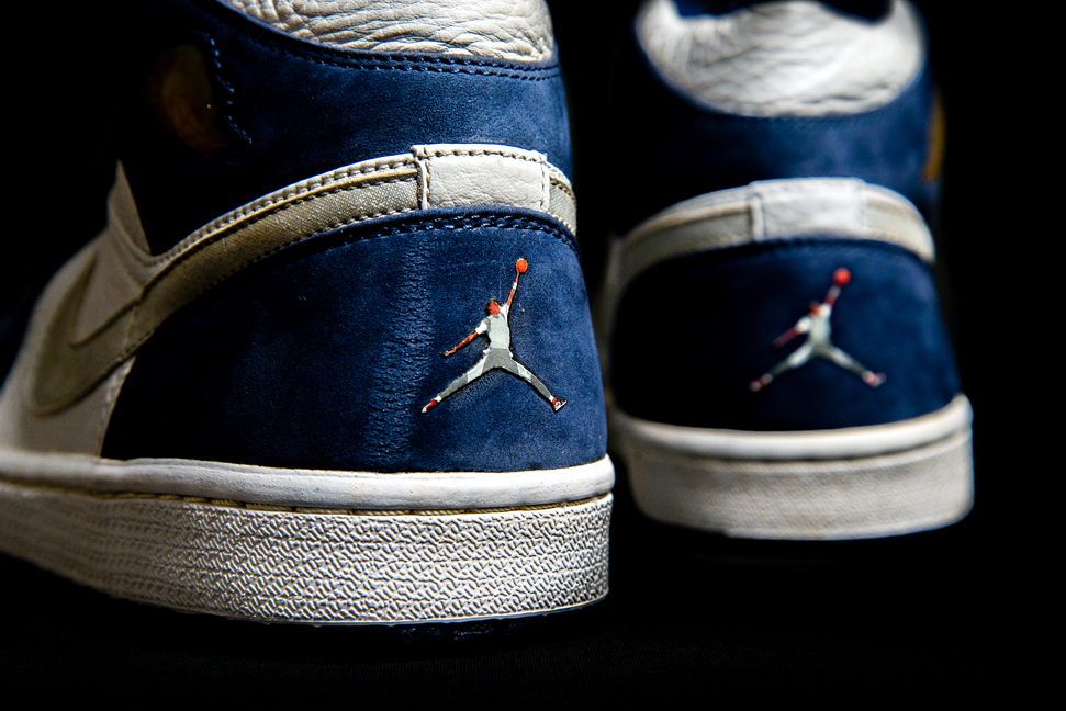 air jordan jumpman rare sample sneakers