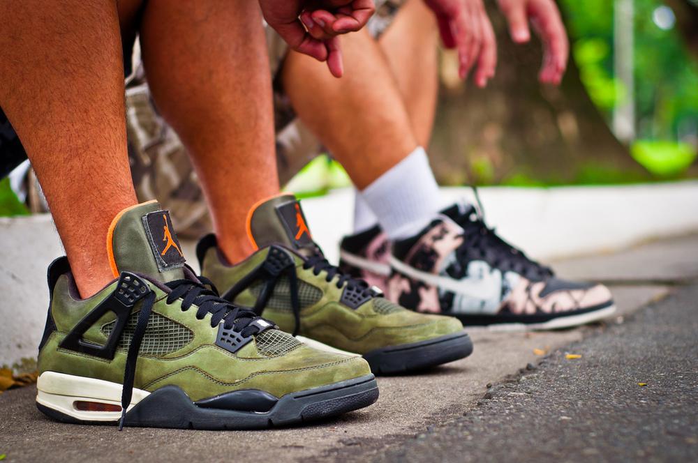 air jordan IV undftd sneakers