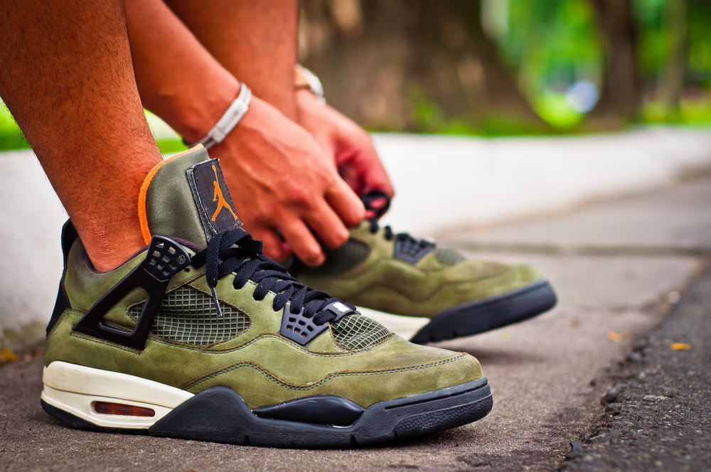 air jordan IV undftd sneakers