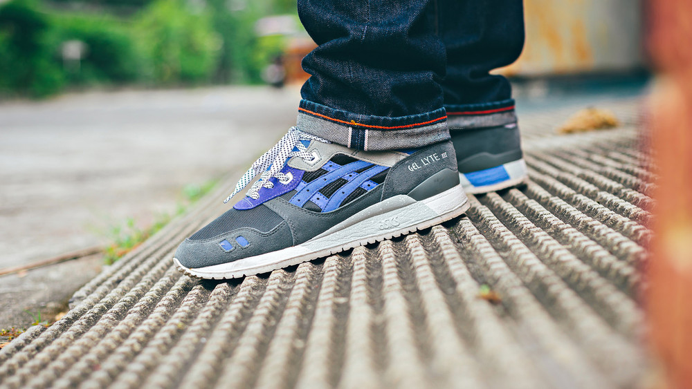 asics x sneaker freaker alvin purple reissue sneakers