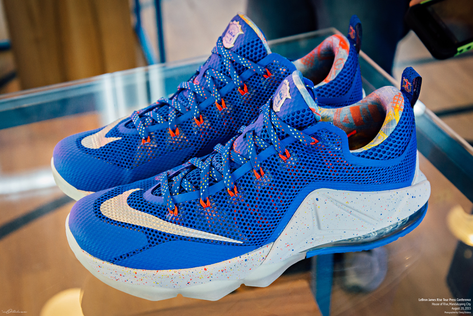reputable site 8c0c8 7f436 ... nike lebron 12 low rise basketball sneakers .