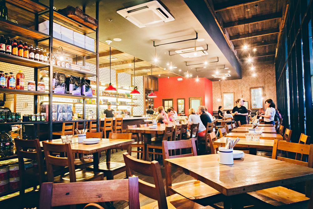 wildflour cafe bakery interior makati