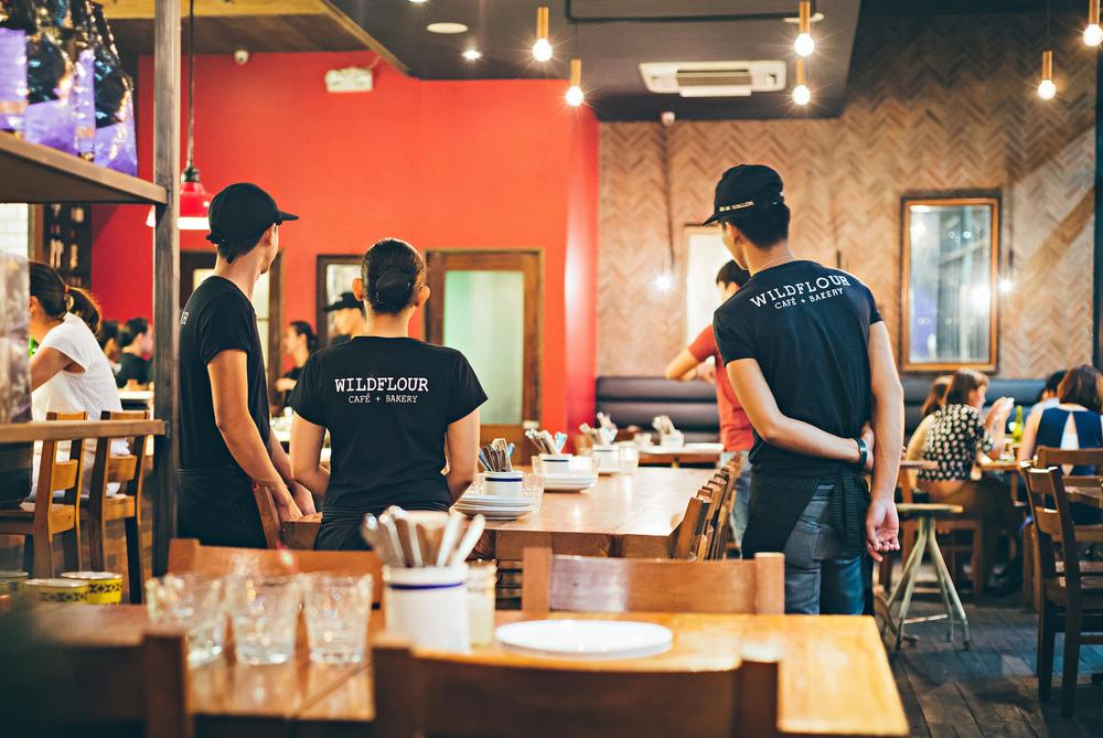 wildflour cafe bakery staff makati