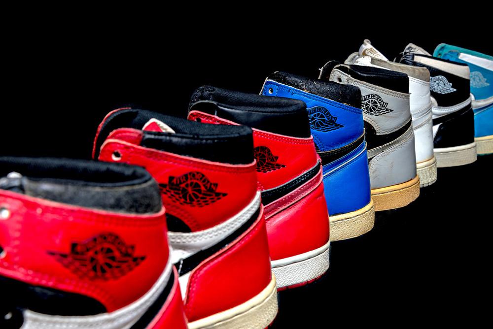 1985 Air Jordan 1 High Sneakers