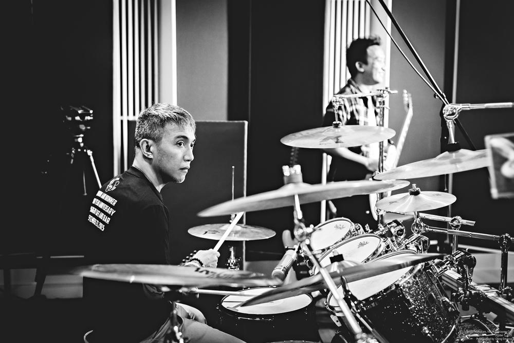 arnel pineda alexey poblete fuseboxx spryta recording studio jam