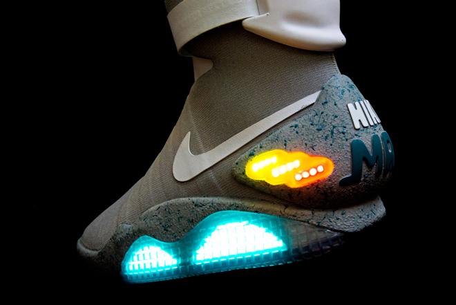 Nike Air Mag Back To The Future Sneakers Marty Mcfly