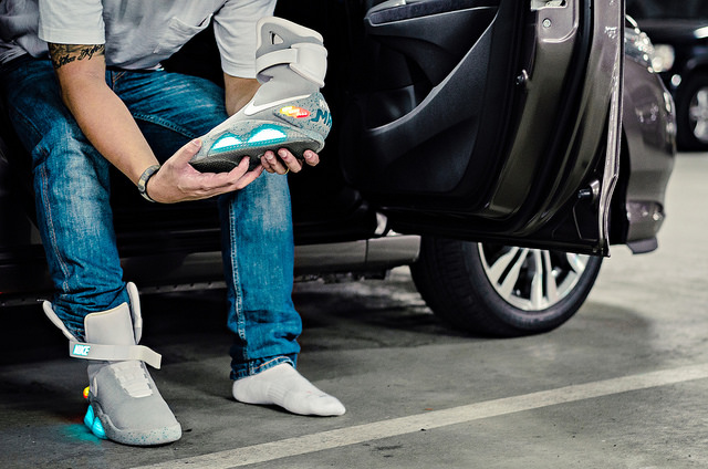nike back the future